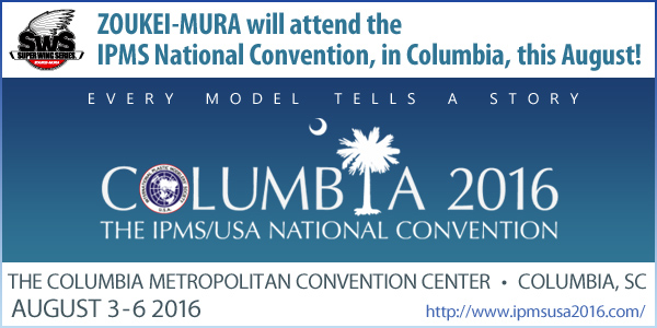 IPMS National Convention Columbia 2016