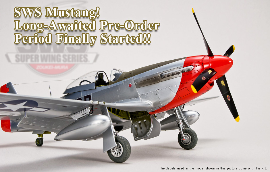 SWS Mustang! Long-Awaited Pre-Order Period Finally Started!!