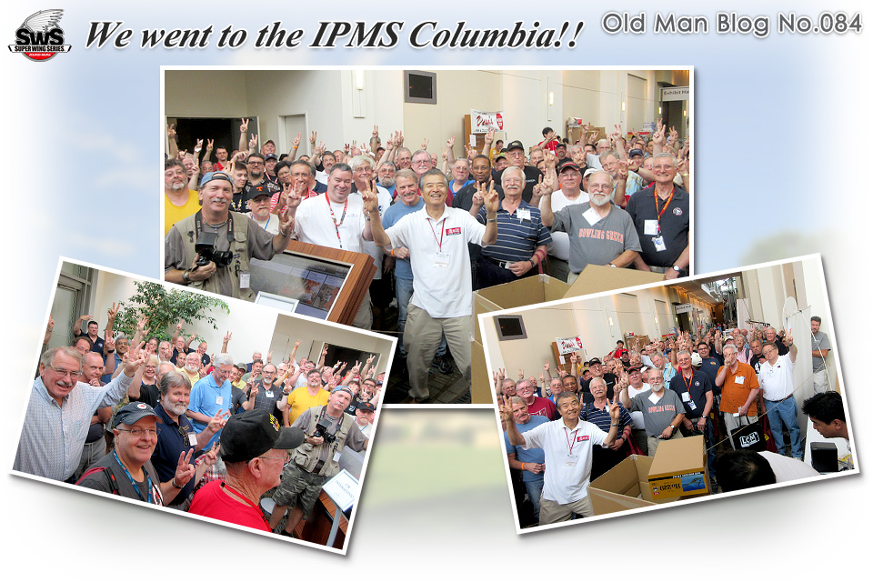 The Old Man Blog No.084 - We went to the IPMS Columbia!!